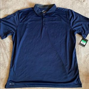Men's dry fit Nike polo